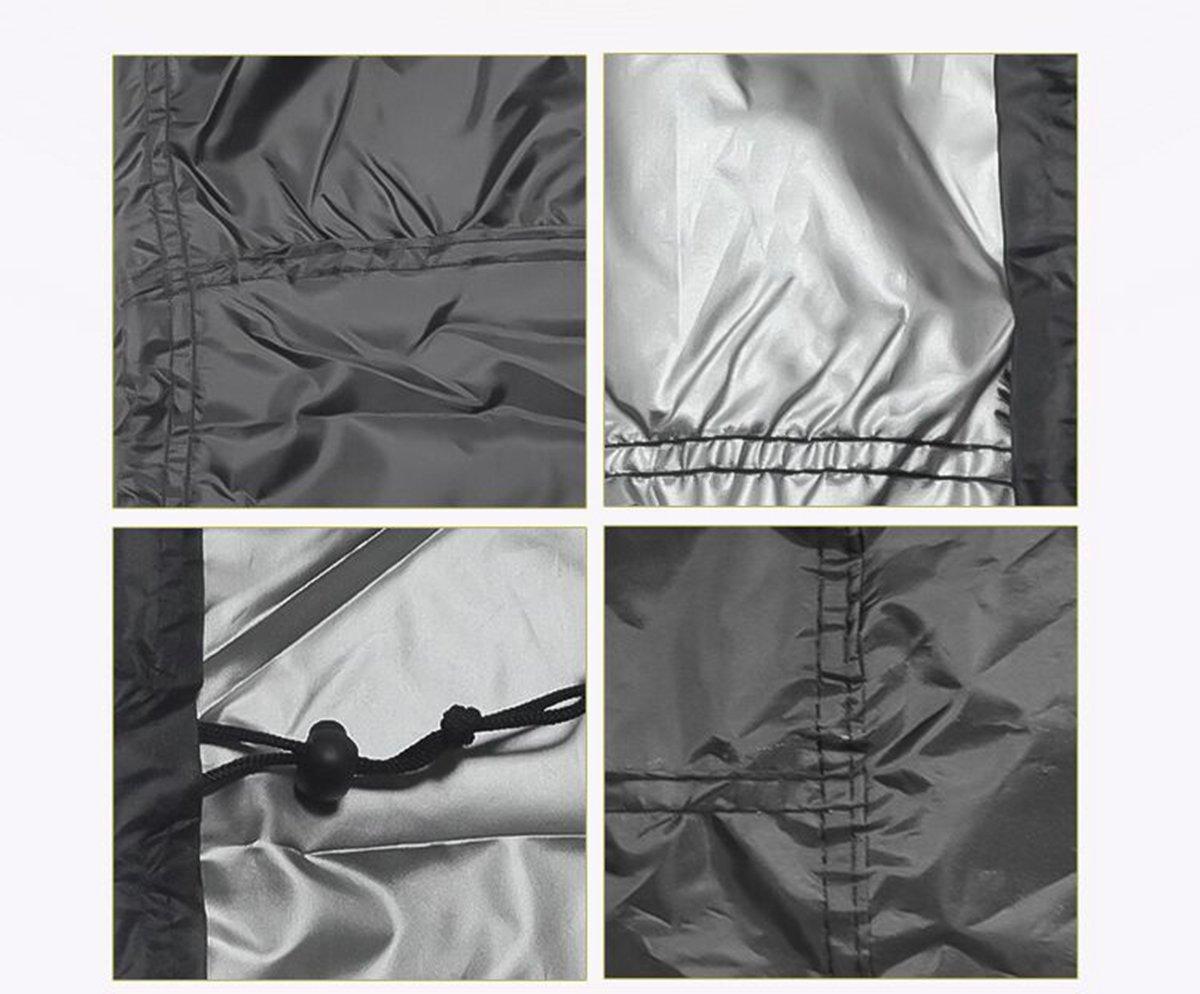 128 x 71 cm per mobili da Giardino EDAHB/® Nera Copertura per Tavolo Circolare in Tessuto Oxford Impermeabile e Traspirante 128 * 71cm Rotonda 185 x 110 cm Rotonda 1