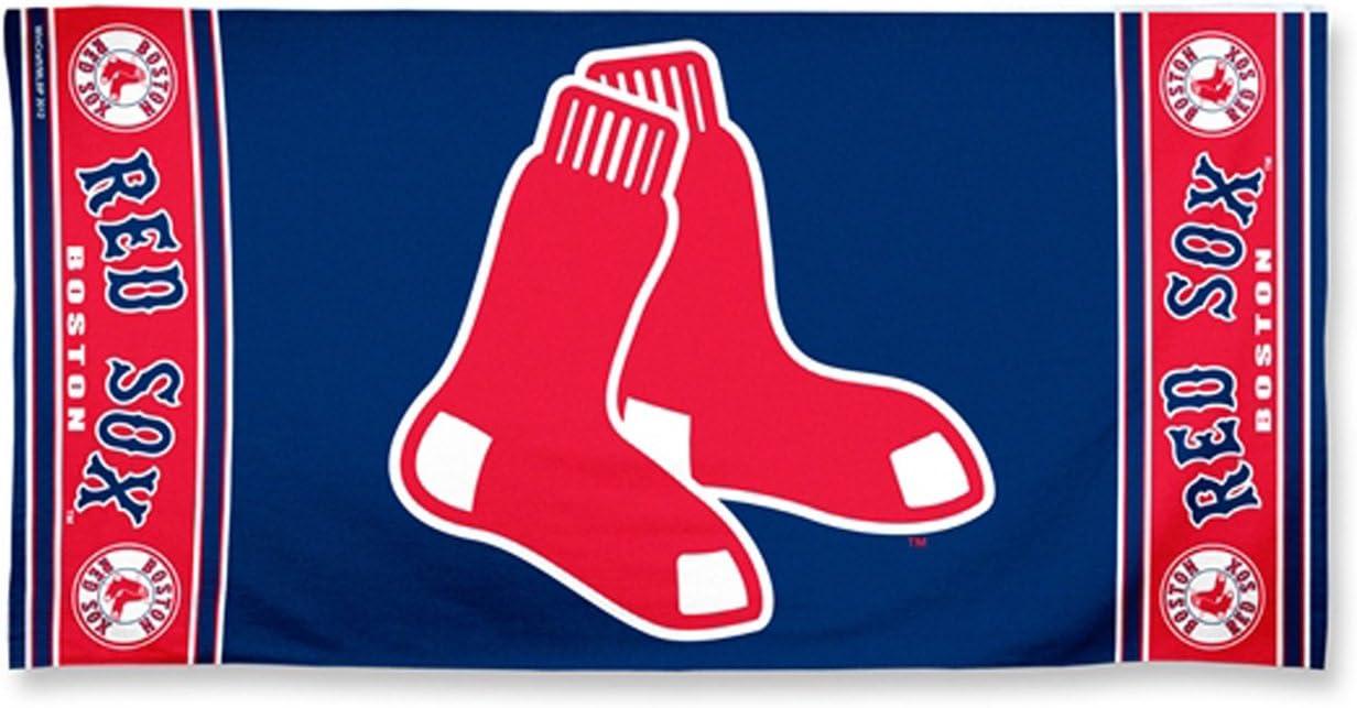 McArthur Boston Red Sox Beach Towel 30 X 60 Inches