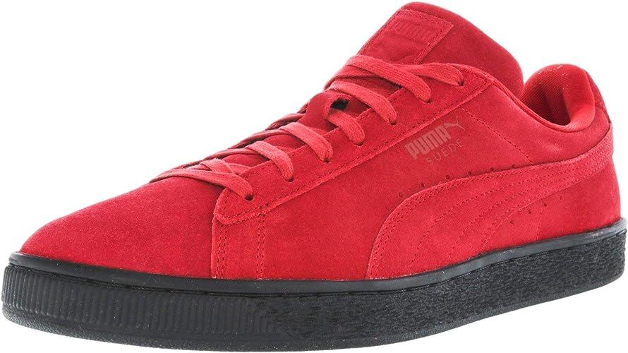 Scarpe rosse sole suola nere scamosciate Puma: Puma: Amazon