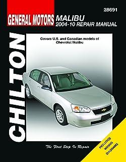 chevrolet malibu automotive repair manual 2004 12 chilton rh amazon com 2005 Chevy Malibu Exhaust System Diagram 2000 Chevy Malibu MAF Voltage and Diagram