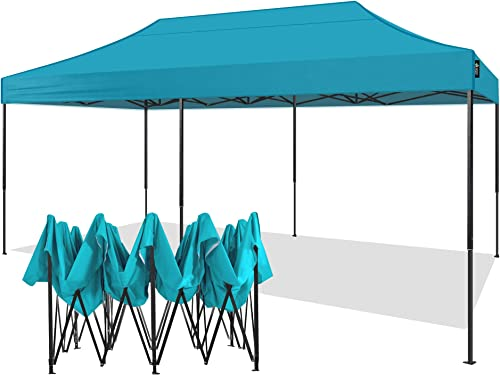 American Phoenix 10×20 Canopy Tent Pop Up Portable Instant Commercial Tent Heavy Duty Outdoor Market Shelter 10×20
