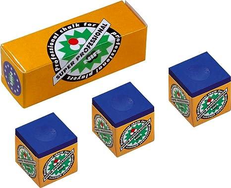 Longoni Kreide de tiza para taco de billar profesional (caja pequeña): Amazon.es: Deportes y aire libre