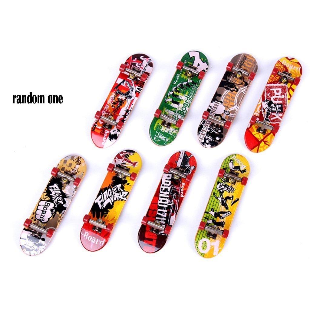 1Pc Mini Finger Skateboard Kit Toy Fancyus