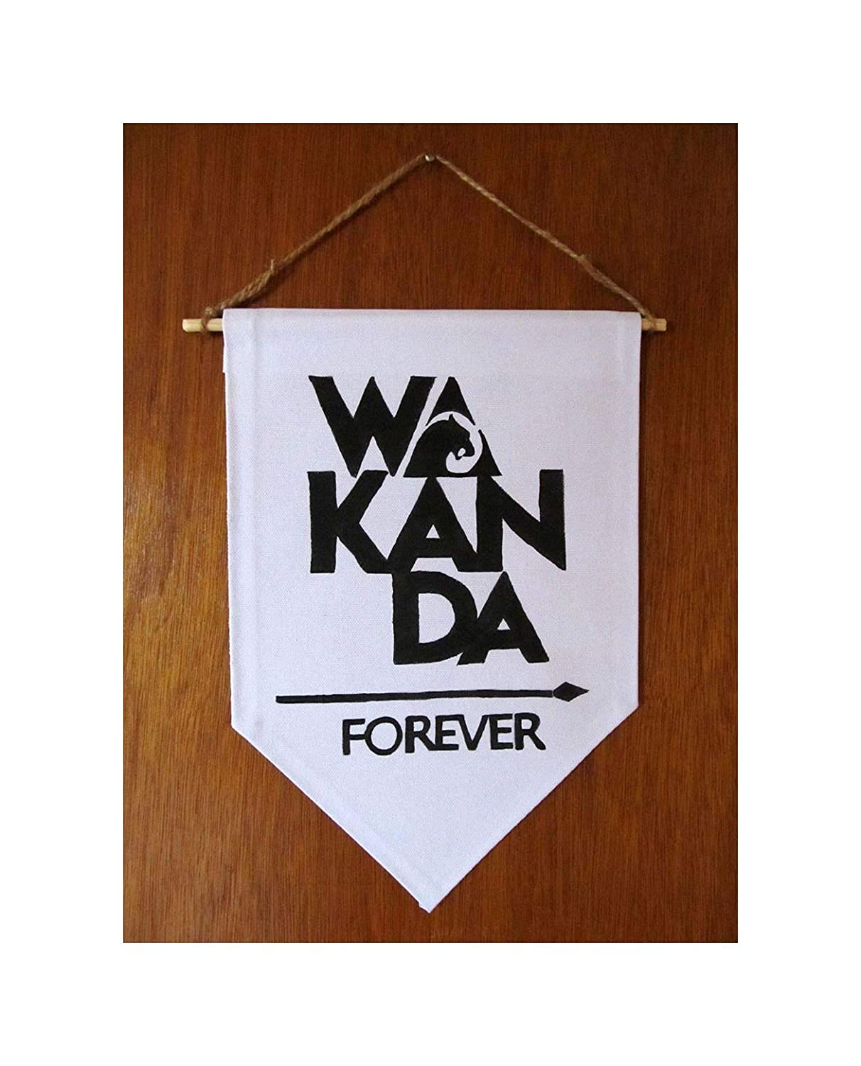 Amazon com year end sale wakanda forever sign black panther wall