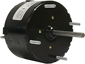 Fasco D540 3.3-Inch Diameter Shaded Pole Motor, 1/100 HP, 115 Volts, 1500 RPM, 1 Speed, 0.6 Amps, CW Rotation, Sleeve Bearing