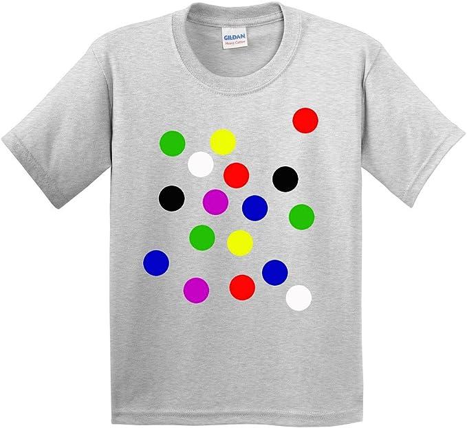 Spotty Dots Mens  T-Shirt Children School Day Cool Boys  Gift Tshirt Tee