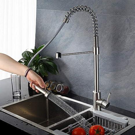 Amazon.com: Beyonds Professional Kitchen Faucet, Single ...