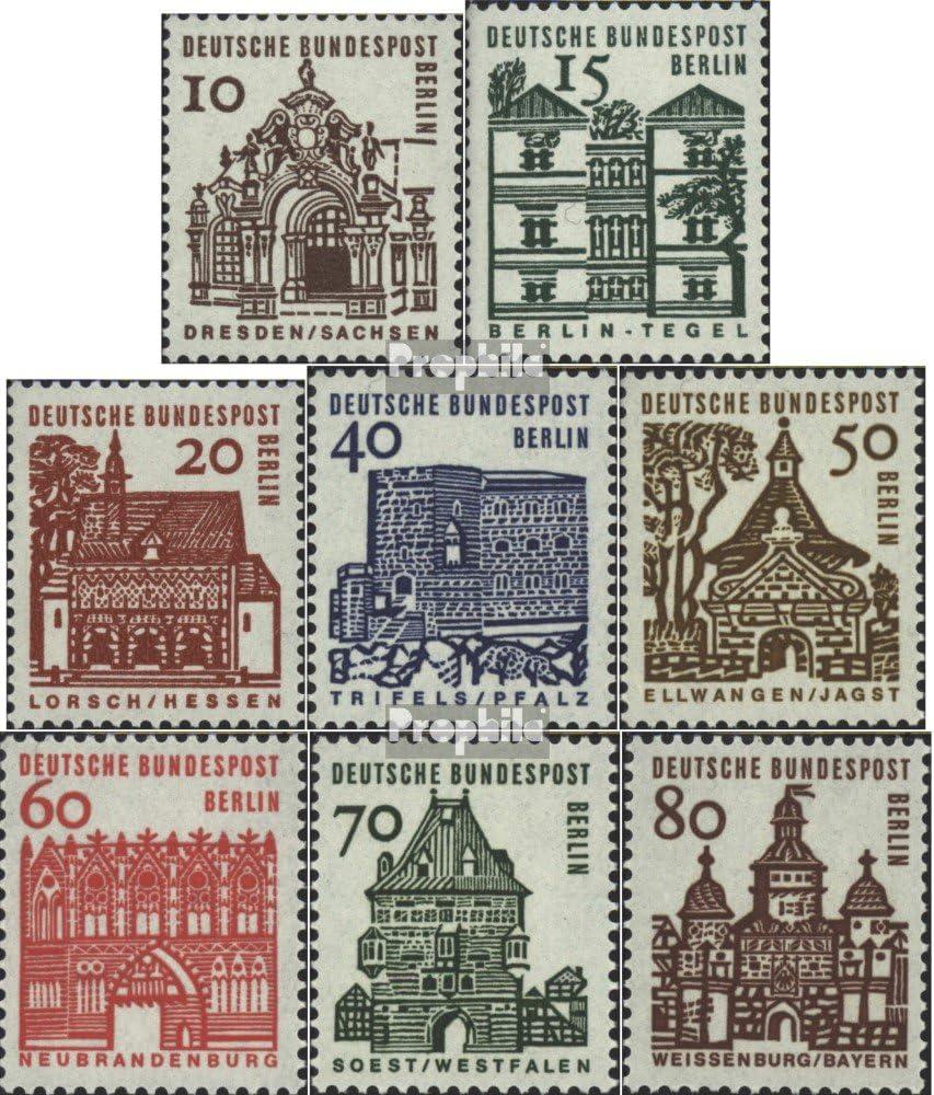 kompl.Ausgabe West Prophila Collection Berlin Briefmarken f/ür Sammler 242-249 1965 Deutsche Bauwerke