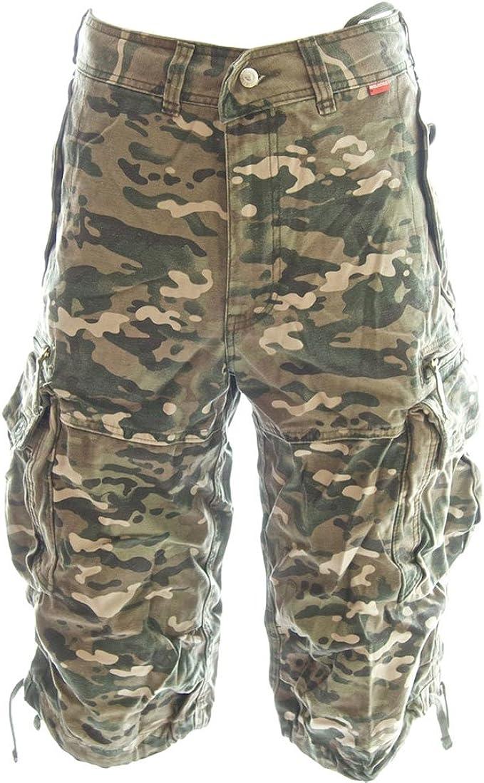 2017 # Men/'s Casual Pants Baggy Shorts Working Cargo Capri Short Trousers US