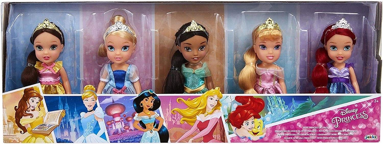 Disney Princesa Pequeña Princesa 2017/2018 Pack 5 Unidades Edición Limitada