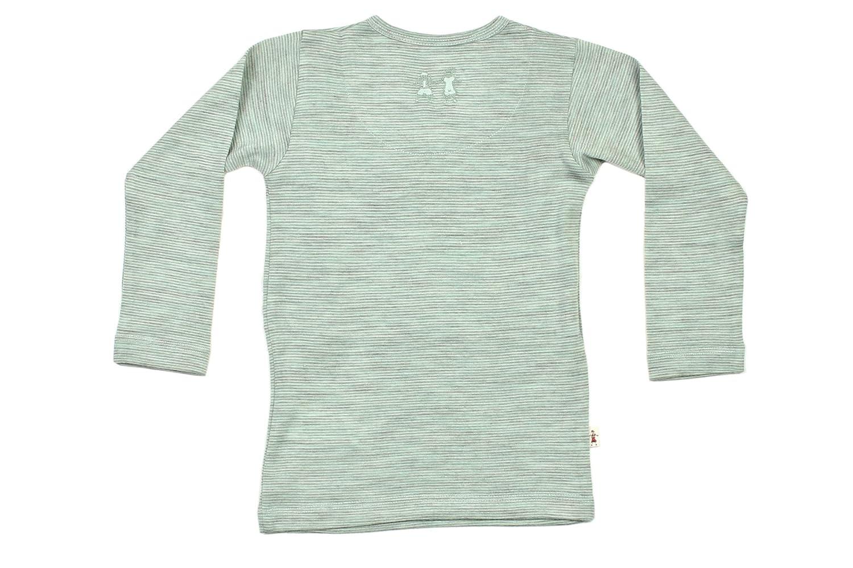 Merino Kids Long-Sleeve Pajama Set Turtle Dove For Toddlers 2-3 Years