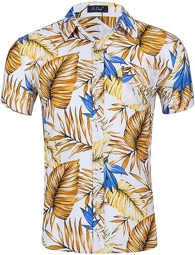 Befox Funky Camisa Hawaiana   Señores   S - XXL   Manga Corta ...