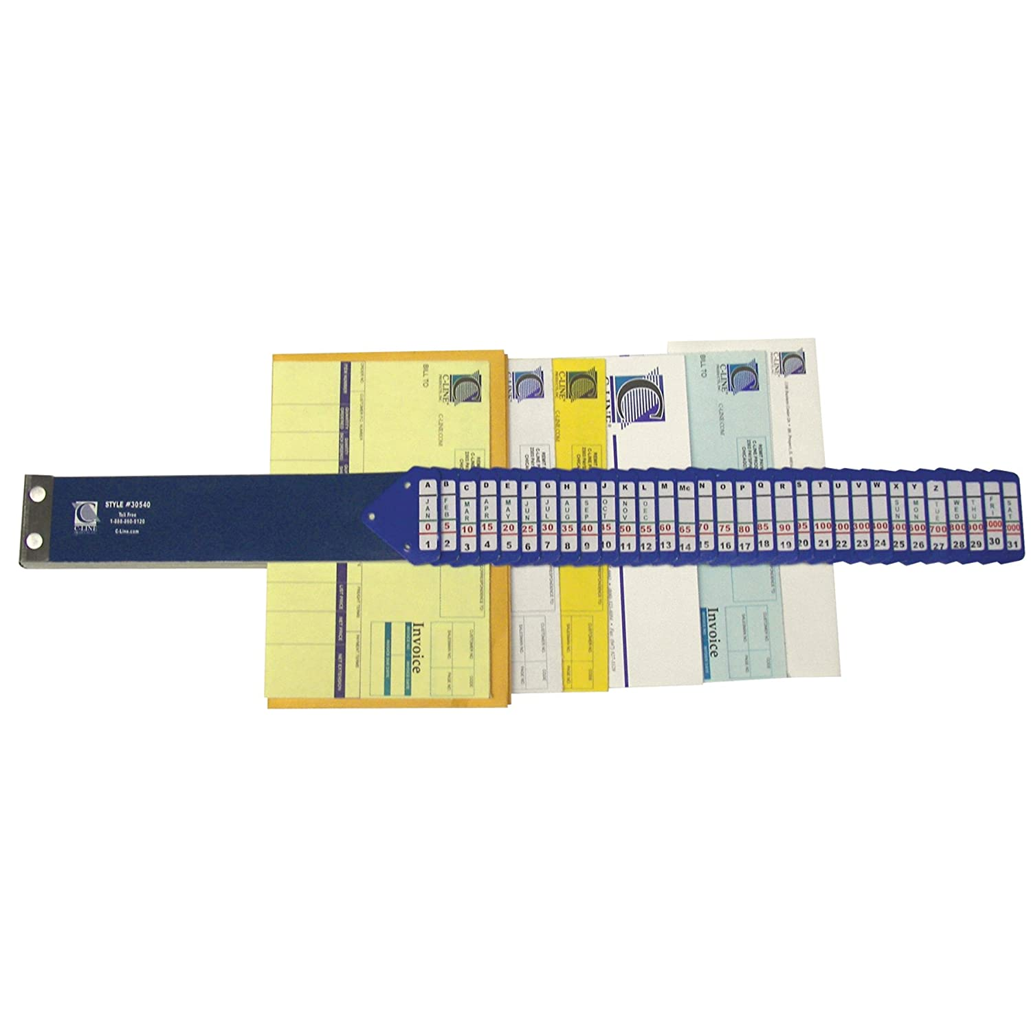 C-Line Heavy Duty Document Sorter with 5 Indexing Systems on 31 Letter-Size Dividers C-Line Products Inc. 30532