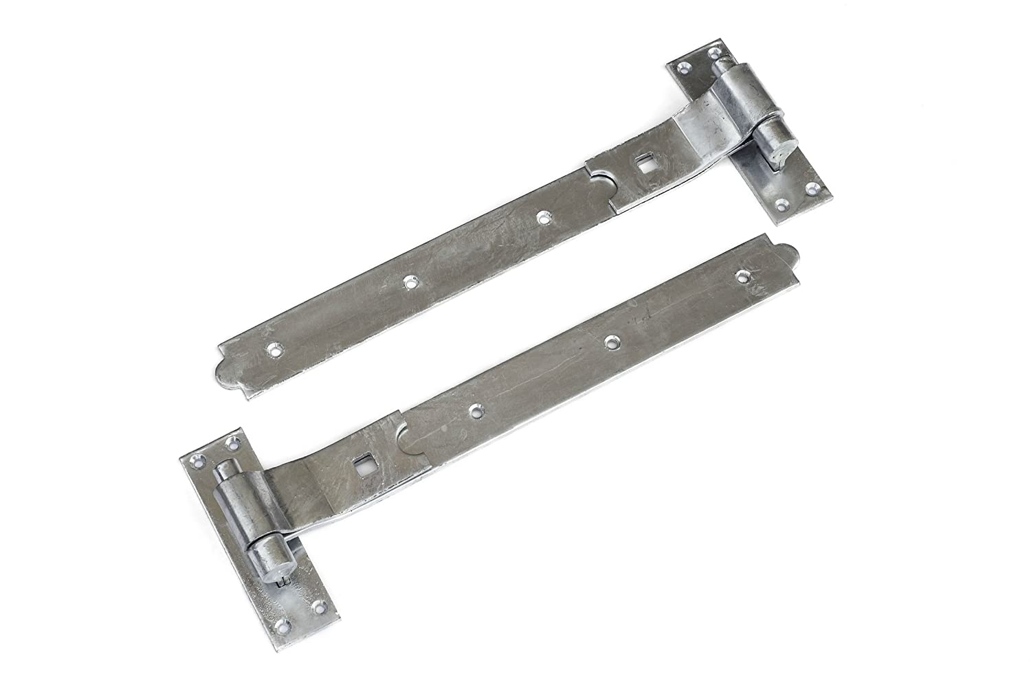 1st Fix South 1 Pair Of 600mm (24') Galvanized Cranked Hook And Band Gate/Door Hinges with no fixings