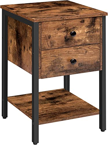 HOOBRO Nightstand Square Coffee Table