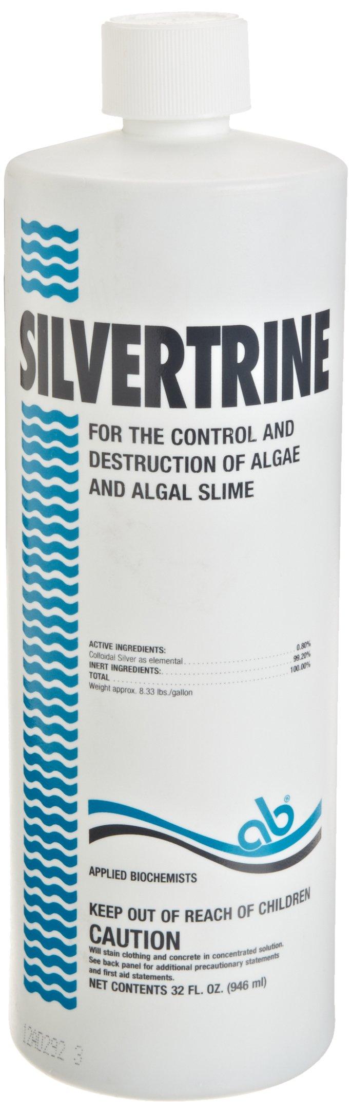 Applied Biochemist 403303A Silvertrine Algaecide, 32-Ounce by Applied Biochemist