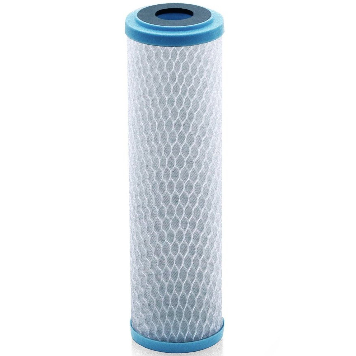 Universal KDF 55/Activated Carbon Water Filter Cartridge - 1 Micron - Replacement 10 inch CTO Water Purifier Filter, (NSF 42 Certified) (1)