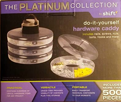 Amazon 1 x platinum collection do it yourself hardware caddy shoes 1 x platinum collection do it yourself hardware caddy solutioingenieria Choice Image
