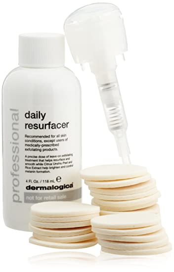 Dermalogica Daily Resurfacer Burts Bees 100% Natural Moisturizing Lip Gloss, Sunny Day, 1 Tube with Wand Applicator
