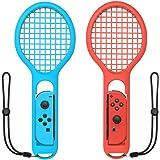 PUBAMALL Raqueta de Tenis para Nintendo Switch Mario Tennis Ace, Controlador Joy-con, Accesorios para Nintendo Switch Game (2