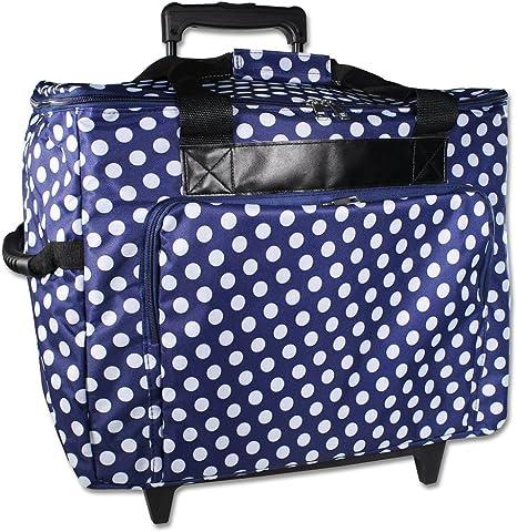 Trolley Azul para Brother Innovis Máquina de coser 10 A, 15, 20 ...
