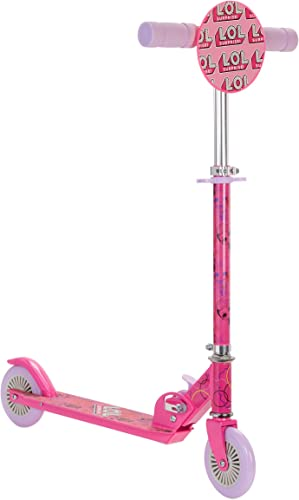 L.O.L. Surprise Folding Kick Scooter, Pink Purple