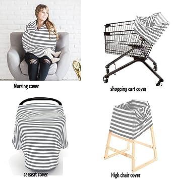Amazon.com: Cubierta para asiento de coche para bebé, para ...