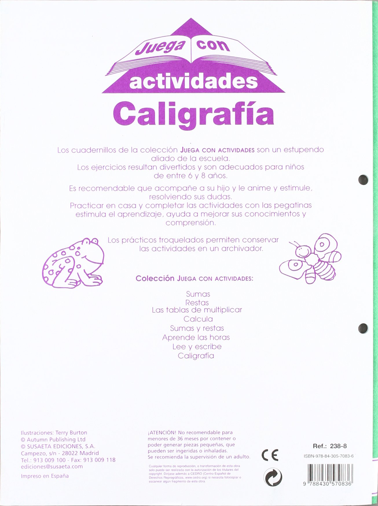 Juega con actividades/ Play with activities (Spanish Edition): Susaeta: 9788430570836: Amazon.com: Books