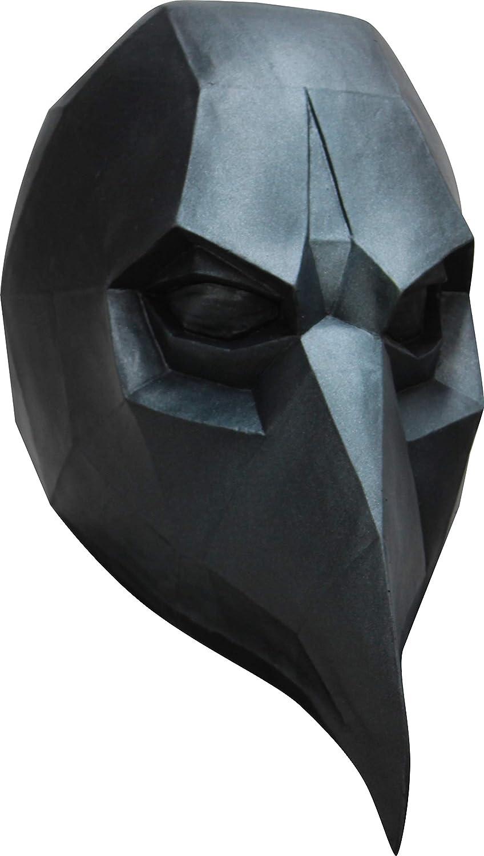 Generique - 3D Raben Maske Niedrig Poly - Hand Bemalt