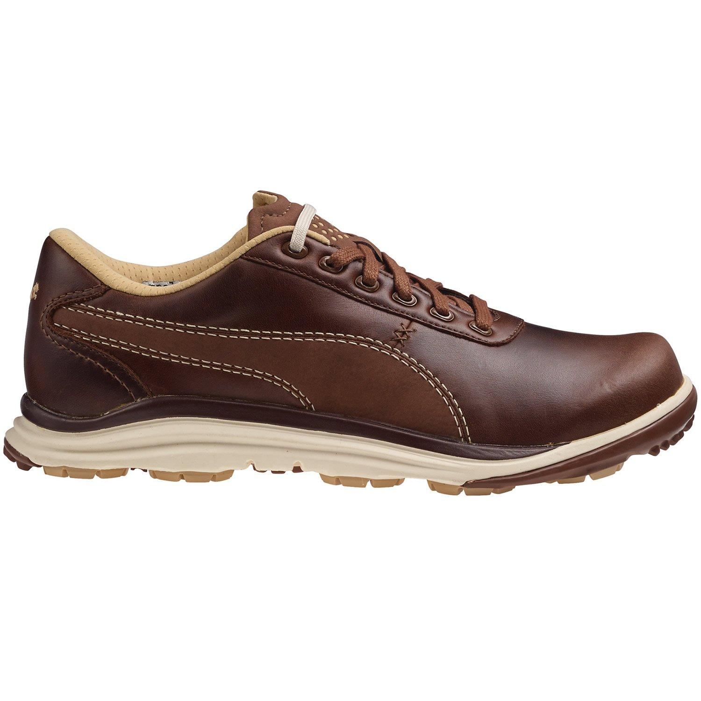 Puma BioDrive Leather Herren Golfschuhe Golf 188202 02 Braun