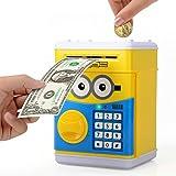 YaCool Hucha Electrónico, Ahorro Dinero Caja de Seguridad con Contraseña Personalizada, Juguetes de los Regalos para…