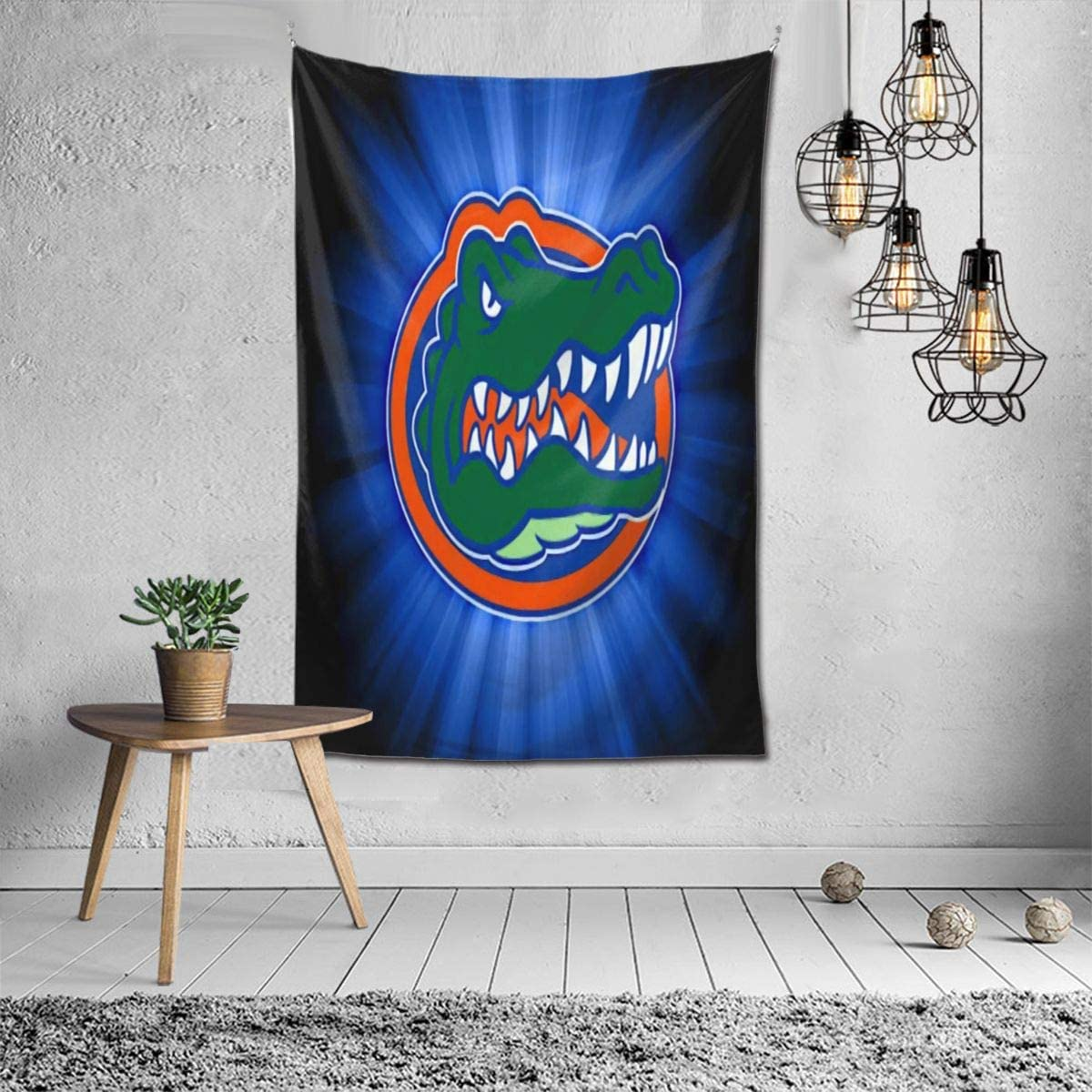 Fremont Die NCAA Florida Gators Tapestry Wall Hanging, Tapestry Art Decoration Closet Bed Living Room Bedroom Dormitory Bedroom Interior Home Decoration Tapestry 60 40inch