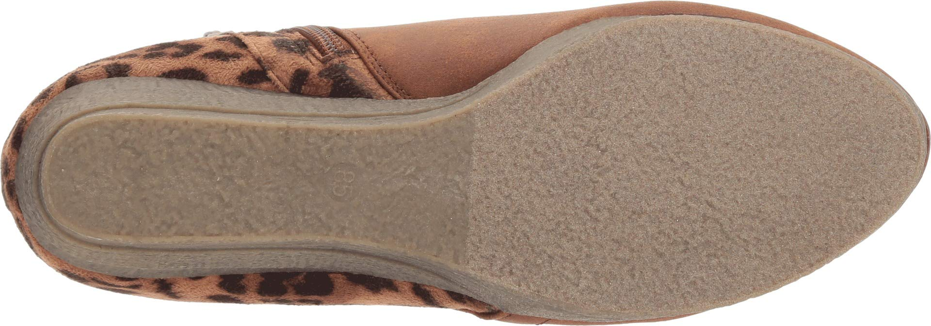 Sbicca Women's Alexandria Tan/Leopard 8.5 M US M by Sbicca (Image #3)