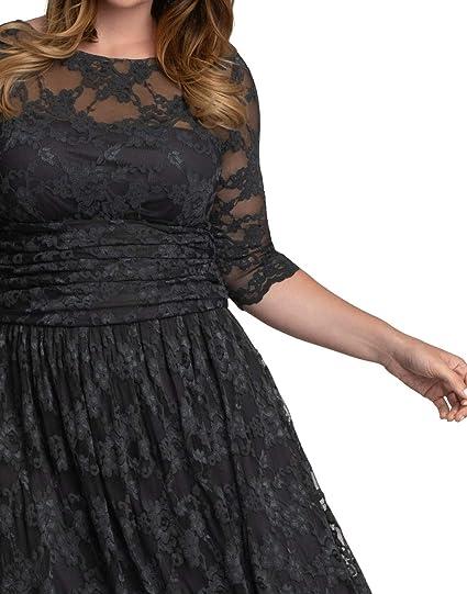 Women's Plus Size Luna Lace Cocktail Dress
