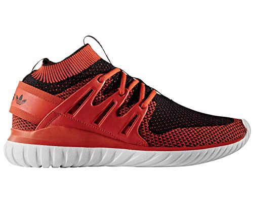 Dejlig adidas Tubular Nova Primeknit Craft Chili Black White: Amazon.co UR-97
