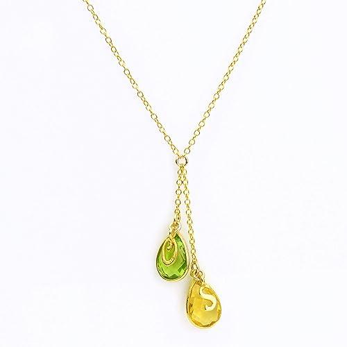 01702c1070da4 Amazon.com: Mothers Necklace, Lariat Necklace, Personalized ...