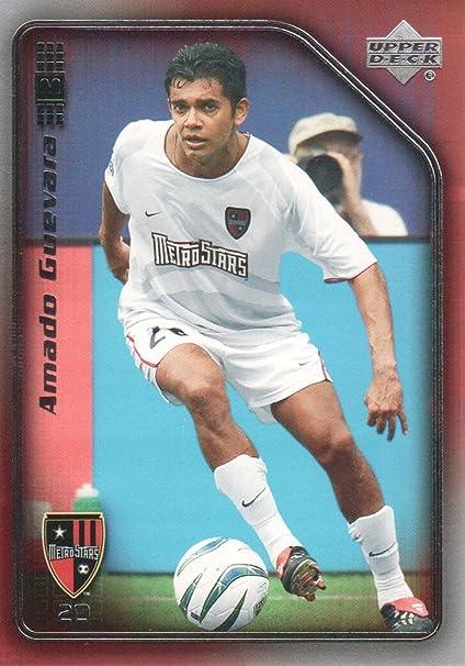 official photos 5be6b 61993 2005 Upper Deck MLS Soccer #52 Amado Guevara New York New ...