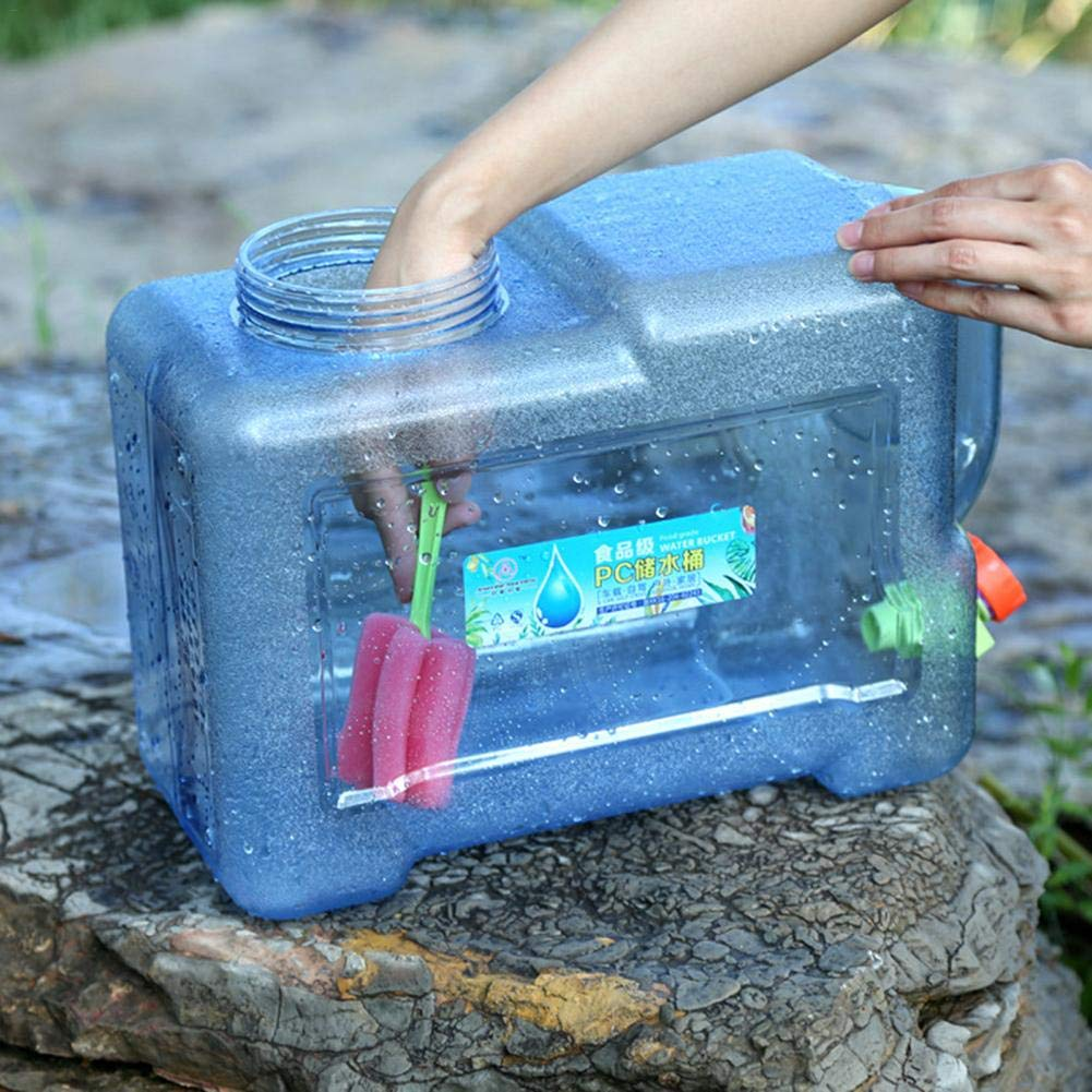 im Freienwasserbeutel-Auto-Wassertr/äger-Beh/älter 5L 8L tragbarer Handwasser-Beh/älter-Fass-Plastikspeicher-Eimer iB/àste Wassertr/äger-Trinkwasserbeh/älter
