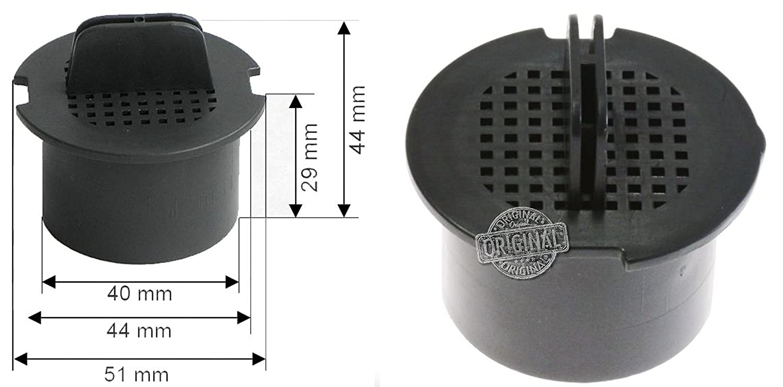 LIEBHERR WK174 - Filtro originale ai Carboni Attivi per Cantinetta Vino LIEBHERR*