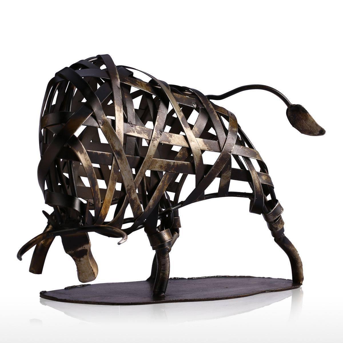 Adornos Moderno Metal Trenzada Vaca