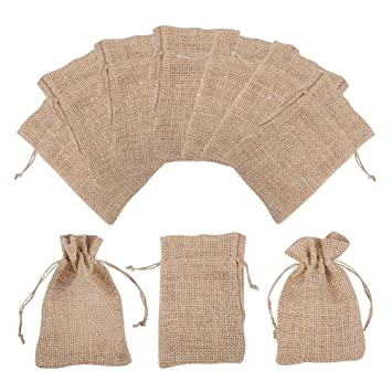 PandaHall Elite & reg 30pcs Natural Bolsas de Embalaje de ...