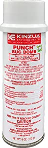 Kinzua Environmental (6 oz) Punch Bug Bomb | 100% Kills Mosquitoes, Cockroaches, Fleas, Ants, Houseflies & More | Commercial-Grade Fogger | Easy-to-Use | Non-Staining, Water-Base Formula (6 oz)