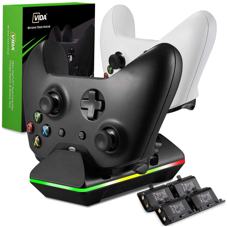 Estacion De Carga Inalambrica Para Xbox One/one S/one Elite