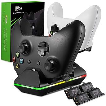 Amazon.com: Xbox One Controller Charger, GAFA Dual Xbox One ...