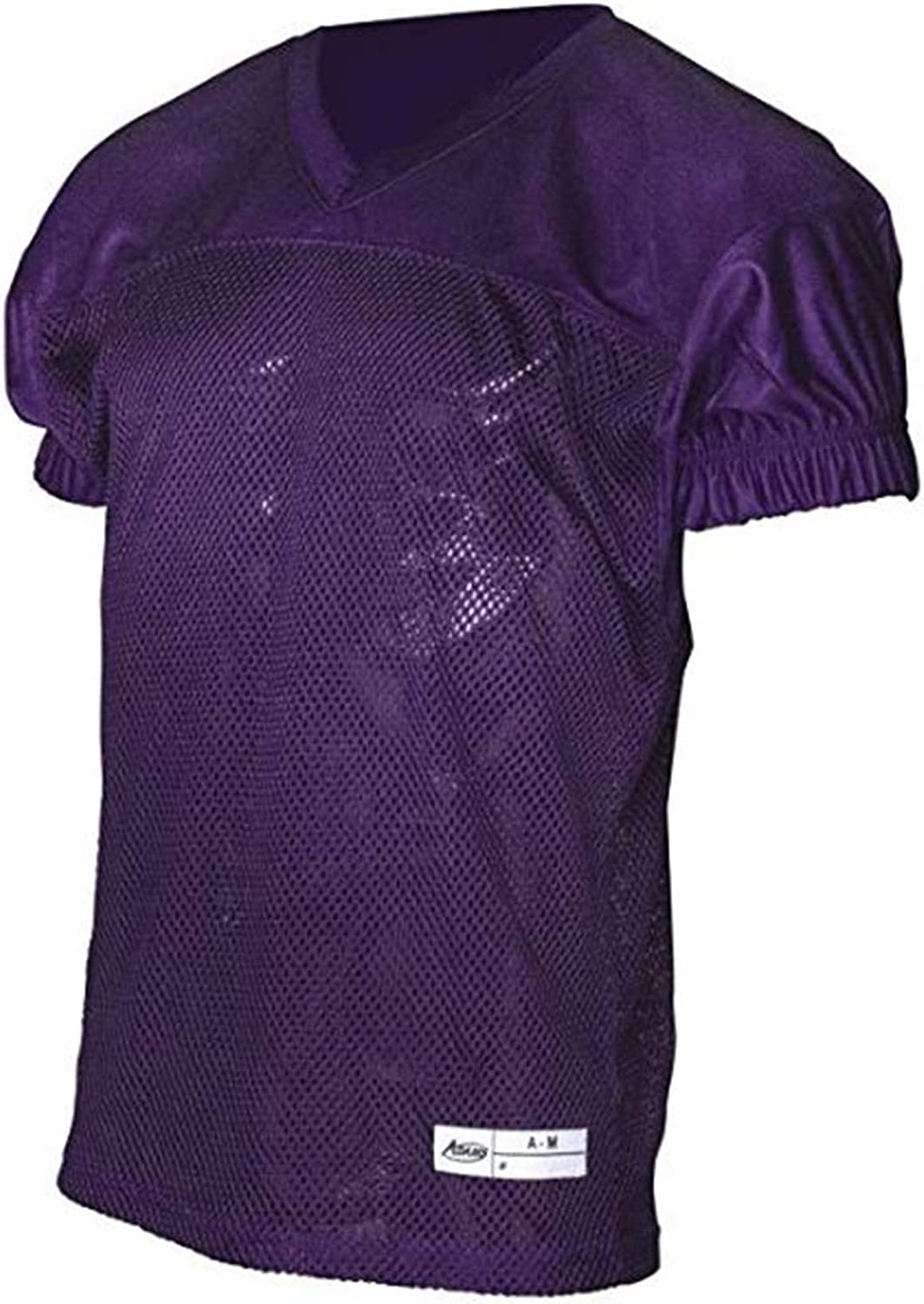 ADAMS USA Dazzle Varsity Practice Football Jersey Purple 2X-Large