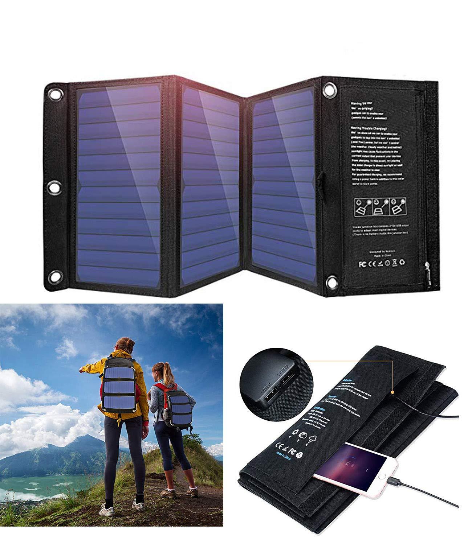 Cargador Solar Portatil de 21 Watts de Salida WISSBLUE