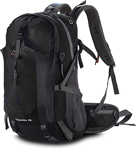TTWO Hiking Backpack Outdoor Sports 45L Lightweight Packable Mountaineering Daypack for Camping Traveling Climbing