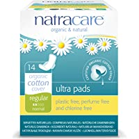 Natracare Natural Ultra Pads with Wings, Regular, 14 Count Boxes
