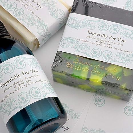 chawoorim Wrap cinta de papel etiquetas jabón materiales de ...