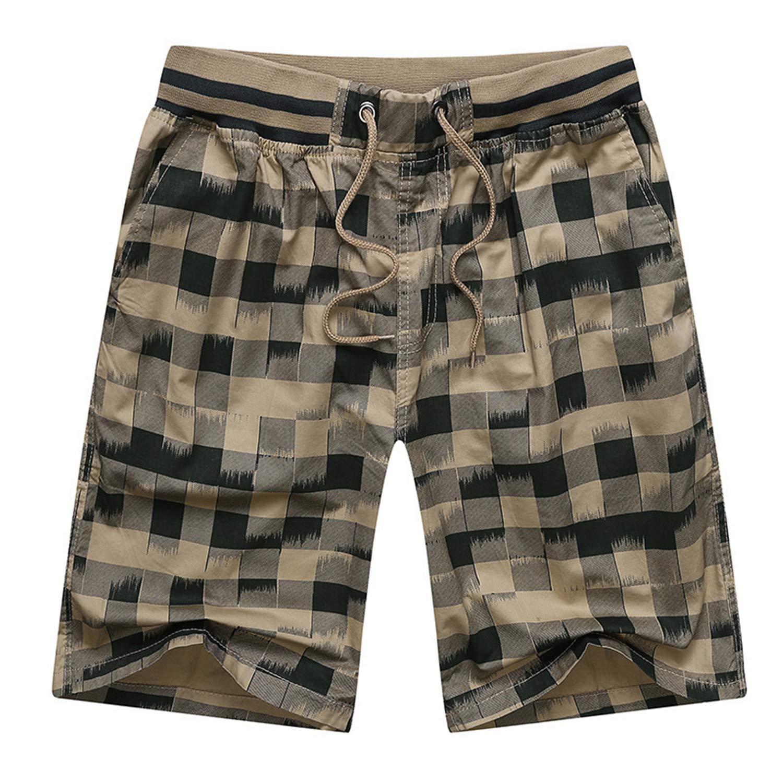 Los Hombres Pantalones Cortos de Ocio de Verano Pantalones Cortos ...